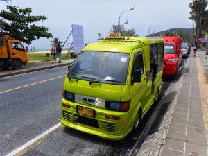タイの交通状況
