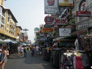 タイの繁華街