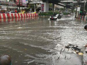 バンコクの雨
