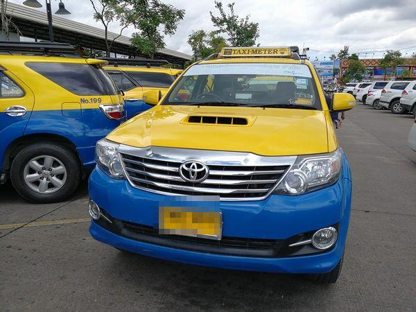 チェンマイのタクシー