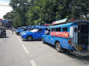 チェンマイの公共交通機関
