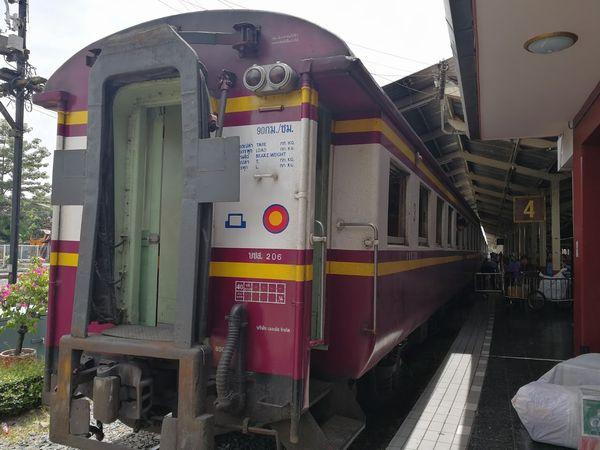 チェンマイの鉄道