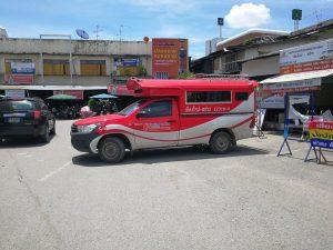 プラーオ郡行きバス