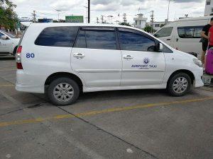 チェンマイ エアポートタクシー
