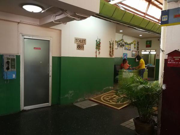 チェンマイ駅のトイレ