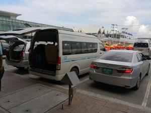 プーケット空港リムジンバン