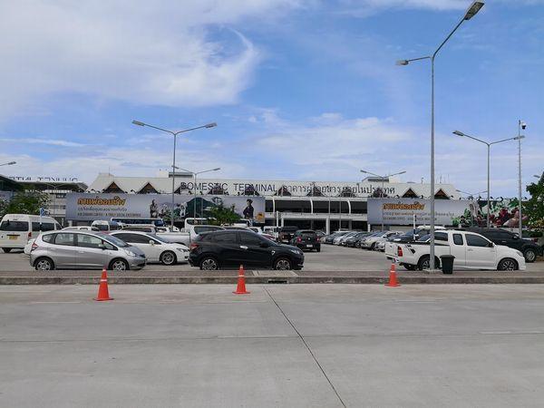 プーケット空港駐車場