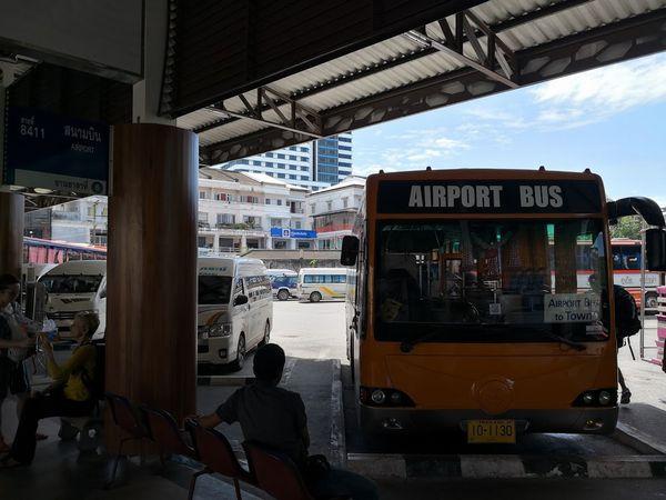 プーケット空港エアポートバス