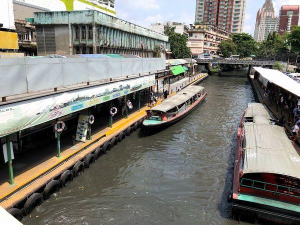 センセープ運河ボート