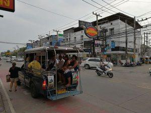 パタヤの交通手段