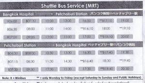 運行日は、月曜日から金曜日の平日。土曜日、日曜日、祭日は運休。