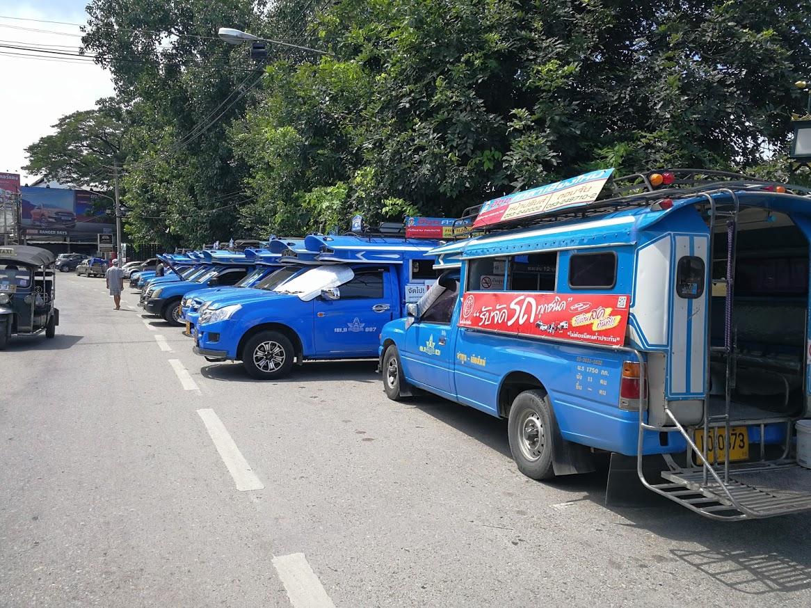 チェンマイ交通機関