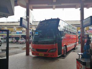 チェンマイの長距離バス