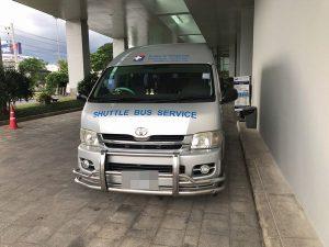 バンコク病院チェンマイのシャトルバス