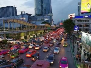 タイ交通渋滞
