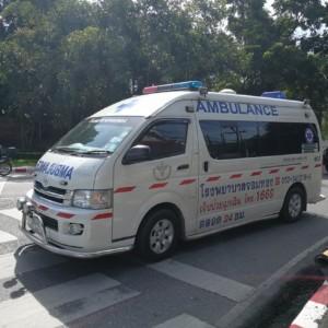 タイの救急車
